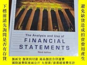二手書博民逛書店財務報表分析與應用罕見The Analysis and Use of Financial Statements(英