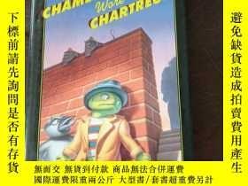 二手書博民逛書店THE罕見CHAMELEON WORE CHARTREUSEY208076 Bruce Hale HARCOU