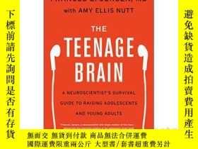 二手書博民逛書店The罕見Teenage Brain A Neuroscient