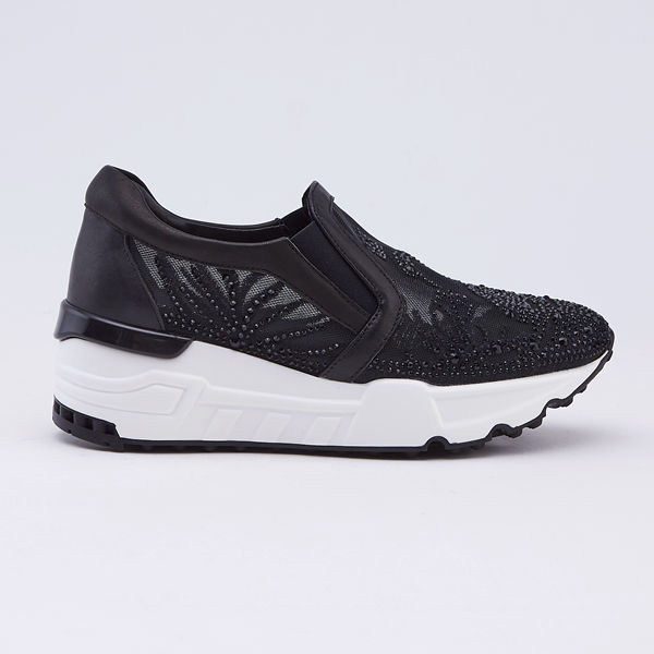 kadia.優雅天鵝湖水鑽休閒鞋(9680-95色)