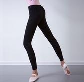 成人舞蹈褲女黑色九分長褲芭褲芭蕾形體訓練緊身彈力練功褲子鍵美