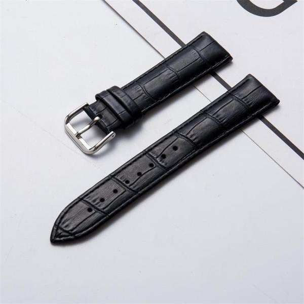 真皮表帶手錶表帶男女牛皮竹節紋手錶配件 【母親節禮物】