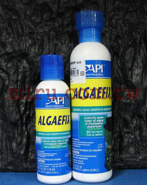 【西高地水族坊】美國魚博士API 藻類清除劑(ALGAEFIX)(240ml)