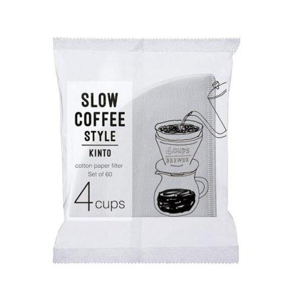 金時代書香咖啡 KINTO Slow Coffee Style 專屬濾紙 04 KINTO-27634-04