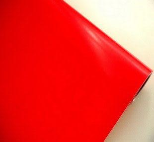 時尚裝飾貼 限時貼 紅色 5米
