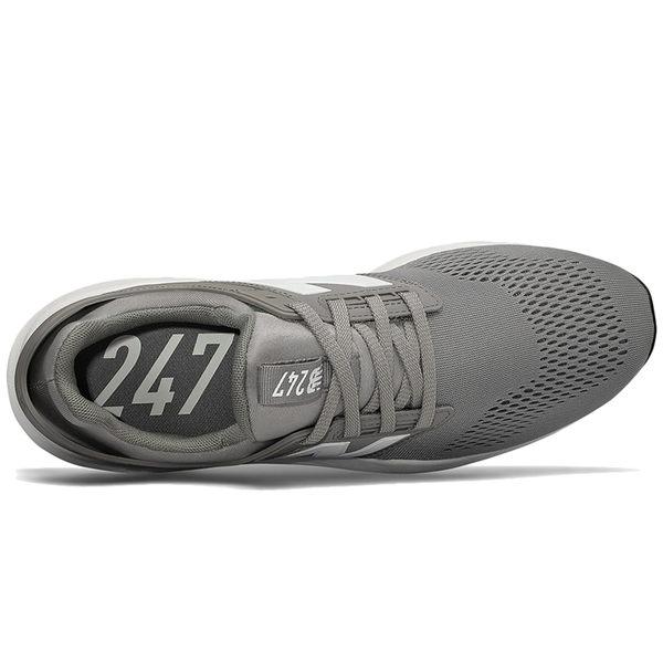 NB 247 男 灰 休閒鞋 運動鞋 一般楦 避震 透氣慢跑鞋 New Balance 情侶鞋 MS247EG