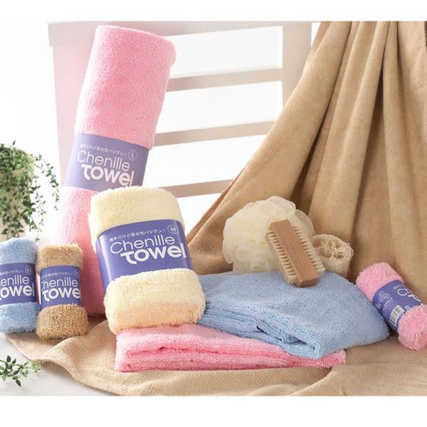 百鈴 雪尼爾快速吸水柔膚浴巾/吸水浴巾 (XS號x2) 悠樂生活館