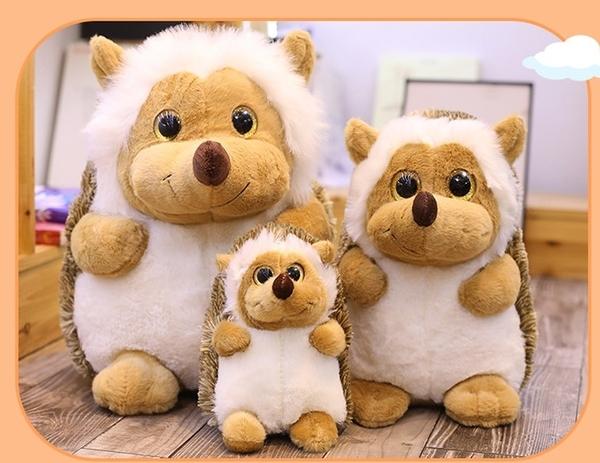 【30公分】森林小刺蝟娃娃 玩偶 聖誕節交換禮物 生日禮物 辦公室餐廳ZAKKA擺設 兒童節禮物
