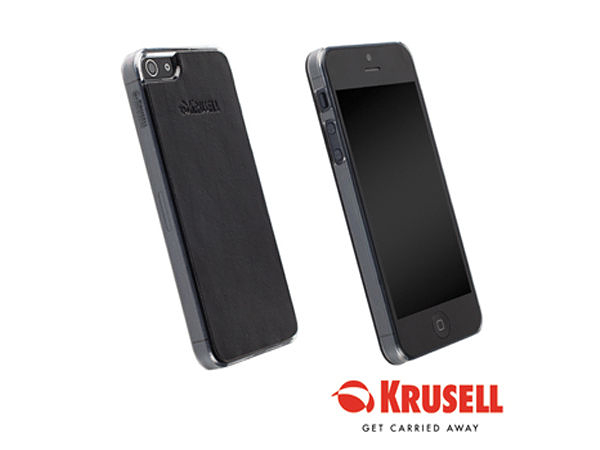 【A Shop】 瑞典KRUSELL Donso UnderCover背蓋-黑 iPhone SE 5S/5專用