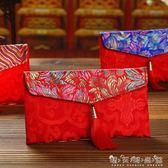 創意錦緞布藝中國風紅包結婚改口1萬元大紅包袋新年利是封 晴天時尚館