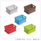 【DOLEDO】疊疊樂收納箱(M)-八入