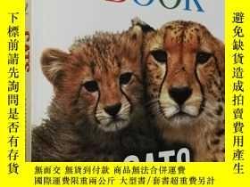 二手書博民逛書店英文原版罕見Smithsonian Answer Book: Cats 銅版紙 彩圖Y7215 John Se