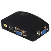 AV 轉 VGA + S端子 轉影像換器