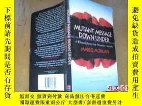 二手書博民逛書店MUTANT罕見MESSAGE DOWN UNDERY20588