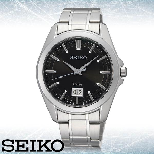 CASIO手錶專賣店 SEIKO精工  SUR009P1 石英男錶 不鏽鋼錶帶  強化玻璃 防水