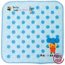 【日本製】【Rub a dub dub】紗布迷你手帕巾 藍色 SD-9207 - Rubadubdub