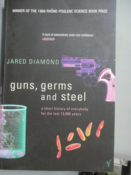 【書寶二手書T4/歷史_HBR】Guns, Germs and Steel: A short history of ev