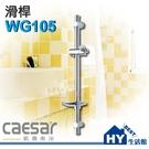 Caesar 凱撒衛浴 WG105 滑桿【SPA淋浴用掛座升降滑桿組】《HY生活館》
