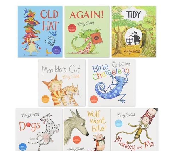 【套書禮品】Emily Gravett picture book pack / 內含8本繪本