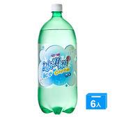 金車冰淇淋汽水2000ml*6入/箱【愛買】