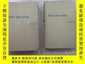 二手書博民逛書店英文書罕見;CASEY PULP AND PAPER 紙漿及紙卷