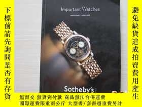 二手書博民逛書店Sotheby s罕見HONG KONG IMPORTANT W