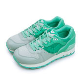 LIKA夢 PONY 繽紛韓風復古慢跑鞋 Mark 8 學院風格 灰湖綠 63W1MK61CB 女