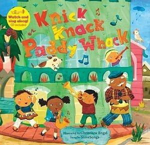 【麥克書店】KNICK KNACK PADDY WHACK  /英文繪本附VCD《數數. 樂器》