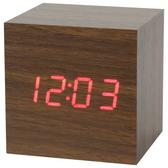 木紋LED數位置鐘 鬧鐘 HOLT S NITORI宜得利家居