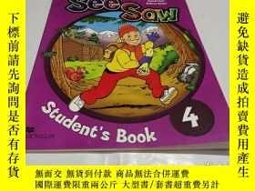 二手書博民逛書店SEE罕見SAW STUDENT S BOOK 4Y9212