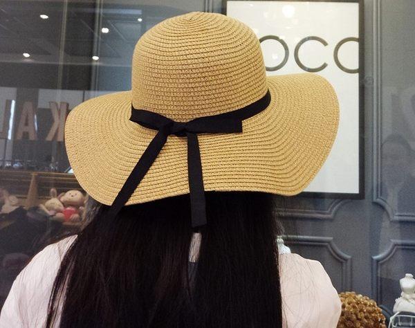 [協貿國際]夏天可折疊草帽防曬大沿帽