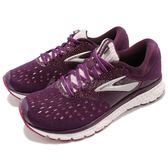 BROOKS 慢跑鞋 Glycerin 16 甘油系列 十六代 灰 藍 超級DNA動態避震科技 運動鞋 女鞋【PUMP306】 1202781B527