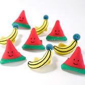 可愛水果造型立體髮夾 兒童髮飾 髮夾