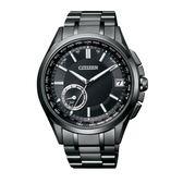 CITIZEN GPS衛星對時光動能鈦腕錶/黑/CC3015-57E