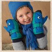 鯊魚造型保暖手套 STERNTALER C-4321504-245