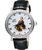 Ogival 愛其華 百年紀念琺瑯典雅機械腕錶388A1550.01GW