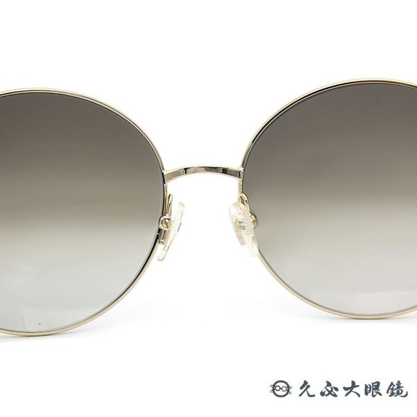 Chloe 墨鏡 CE124S 750 (金-透綠) 簍空金屬 復古圓框 太陽眼鏡 久必大眼鏡