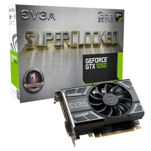 EVGA 艾維克 GeForce GTX 1050 3GB SC GAMING ACX2.0 GDDR5 顯示卡