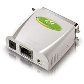 ZO零壹 P101S 家用平行埠印表伺服器