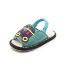 手工納底春秋兒童防滑家居1-3-5歲2嬰兒室內男童女寶寶幼兒布拖鞋