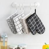 隔熱手套2732烘焙工具耐高溫防熱手套加厚隔熱廚房烤箱微波爐防燙手套 嬡孕哺