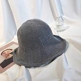漁夫帽秋冬季保暖百搭女韓版復古雙面盆帽【少女顏究院】