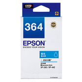 EPSON T364250 (NO.364) 原廠藍色墨水匣 xpression Home XP-245 / XP-442