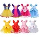 萬聖節 現貨女童公主造型連衣裙洋裝...