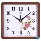 掛鐘鐘錶掛鐘客廳時尚簡約時鐘靜音小兒童房長方形家用裝飾石英鐘掛錶wy