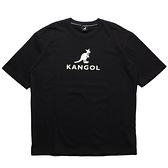 KANGOL 短袖 短T 黑 短袖 胸口 大LOGO 袋鼠 棉 男 (布魯克林) 6021101520