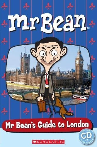 POPCORN READERS : MR BEAN: MR BEAN'S GUIDE TO LONDON   STARTER LEVEL/書+CD