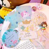 簡約流沙滑鼠墊可愛創意卡通少女桌面粉嫩學生小清新閃粉女滑鼠墊     時尚教主