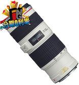 【24期0利率】送UV鏡 Canon EF 70-200mm f/4 L IS USM 彩虹公司貨 70-200 F4L
