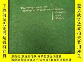 二手書博民逛書店thermodynamic罕見and transport pro